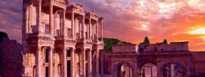 Celsus Library Tours in Ephesus