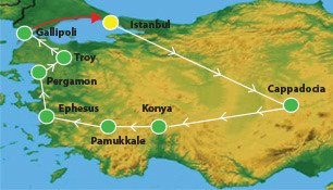 10 Days Turkey Tour