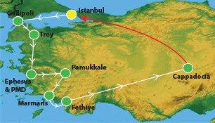17 Days Turkey Tour