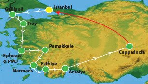 21 Days Turkey Tour
