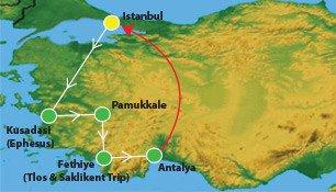 15 Days Turkey Tour