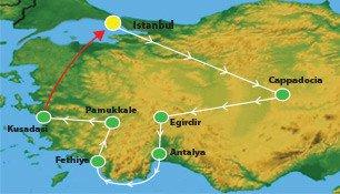 21 Days Turkey Spring Tour