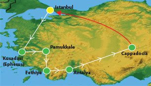 21 Days Turkey Summer Tour