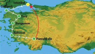 8 Days Western Turkey Tour