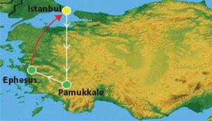 3 Days Pamukkale Tour