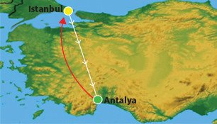 7 Days Antalya Tour