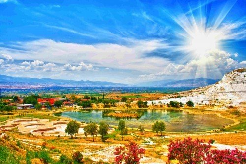 Hot Springs in Turkey