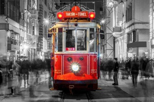 Istiklal Avenue Old Tram